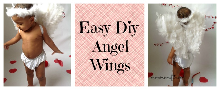 Easy DIY Angel Wings Tutorial graphic