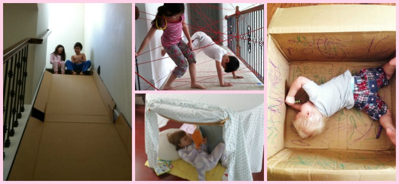 18 Cheap Ways To Keep Your Toddler Busy On Rainy Days graphic